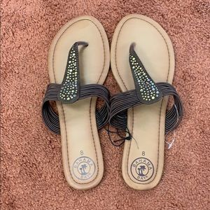 Bahamas bay Brown new sandals